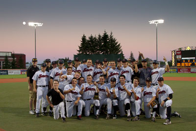 Corvallis Knights capture 2013 WCL crown