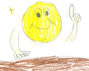 Philomath Elementary School Student Hannah Faust Wins Drawing Contest.