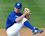 Knights' Southpaw Dylan Stuart of UCR Named Big West Freshman Pitcher of the Year.