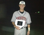 Knights' Outfielder Connor Hofmann of Oregon Earns WCL All-Star Game MVP Honors.