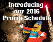 Knights Unveil 2016 Promo Schedule.