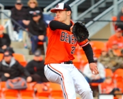 Future Knight Southpaw Ben Wetzler of OSU Wins Rubber Game vs. Cal.